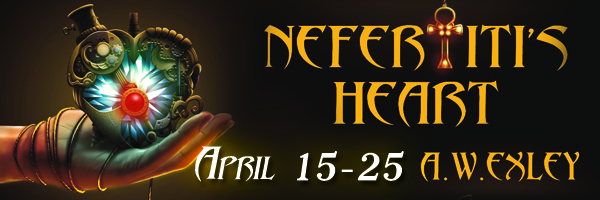 Nefertitis Heart Tour banner copy